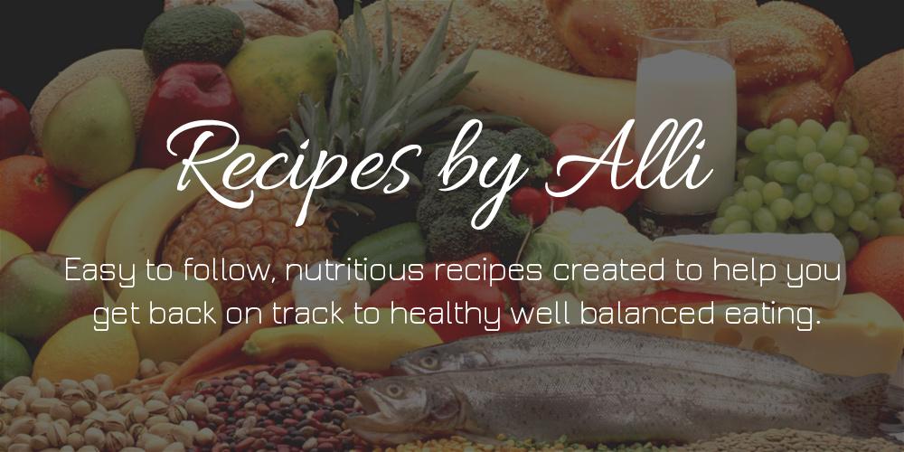 Alli recipes