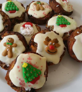 Mini X'mas Puddings